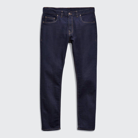 NEXT-dark navy 'slim fit' stretch jeans