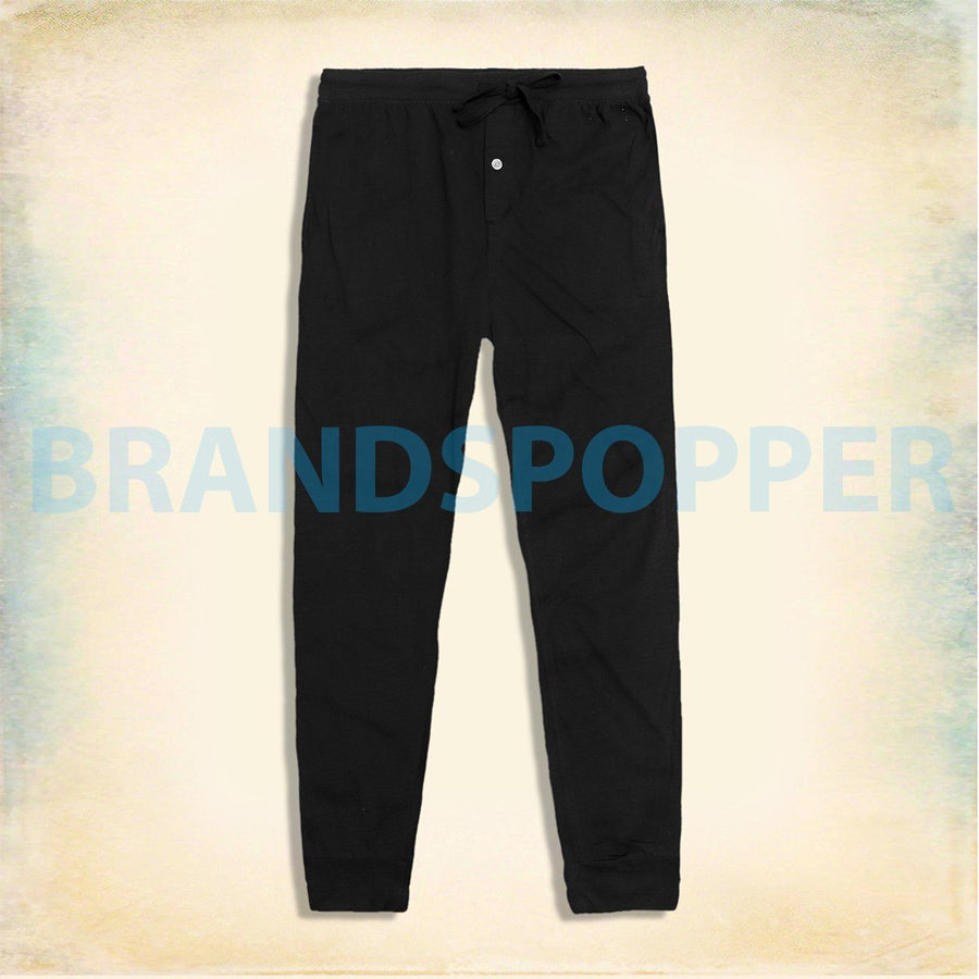 DIP-black comfort stretch lounge pants (931)