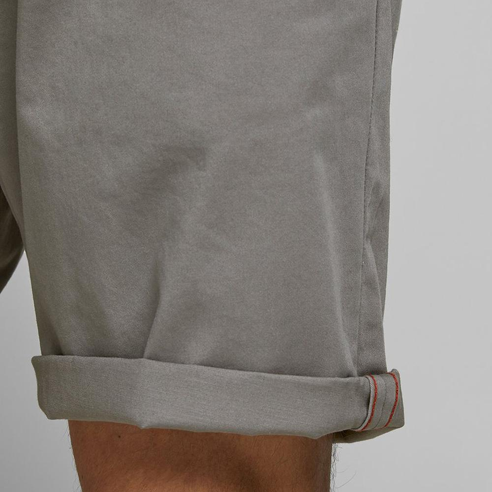Premium Quality Charcoal Grey Classic Chino Shorts (2565)
