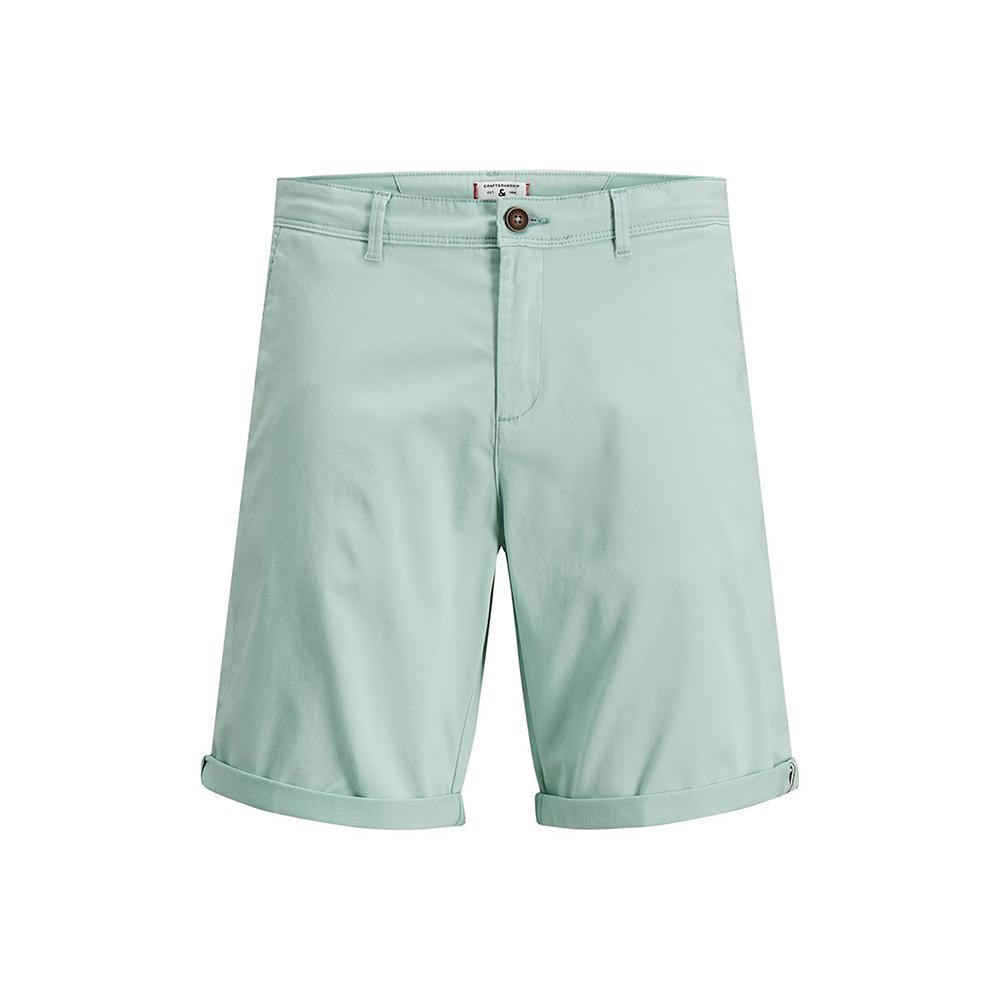 Premium Quality Silt Green Classic Chino Shorts (2562)