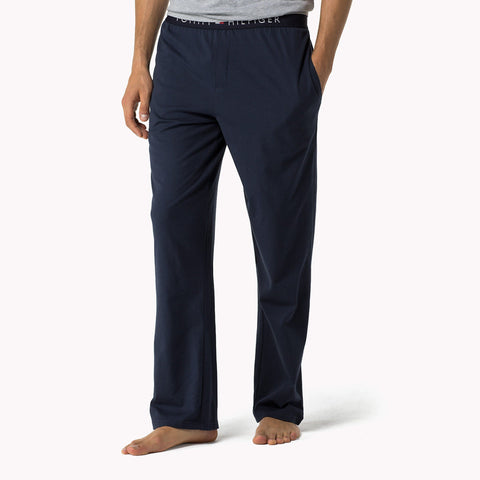 TOMMY HILFIGER-navy icon lounge pants