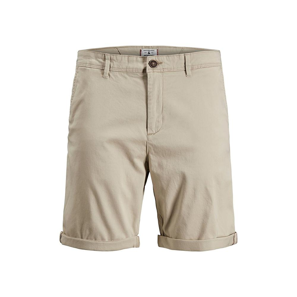 Premium Quality Light Beige Classic Chino Shorts (2554)
