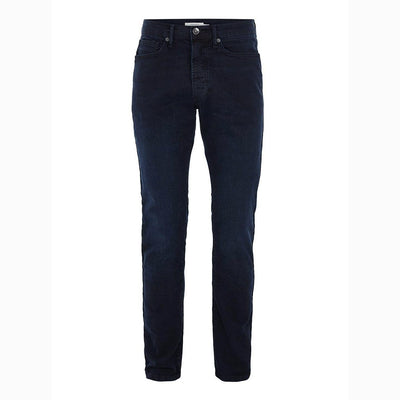 TM-blue overdyed 'slim fit' stretch jeans