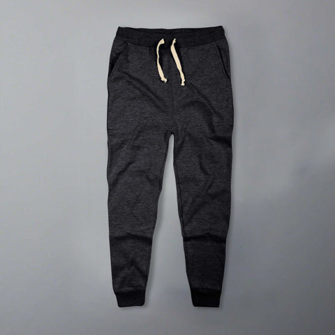 CELIO-charcoal grey 'slim fit' jogger trouser