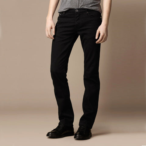 DIESEL-exclusive carlo 'slim fit' stretch black denim