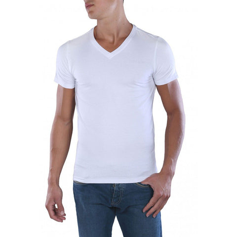 TEDDY SMITH-tawax 'super slim fit' white short sleeve t-shirt