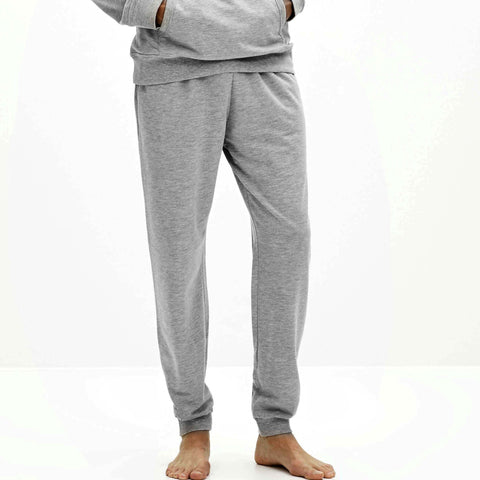 CELIO-grey 'slim fit' jogger trouser