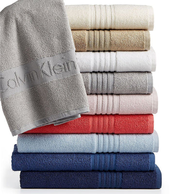 Exclusive coral modern logo bath towel (30 X 57 Inches)