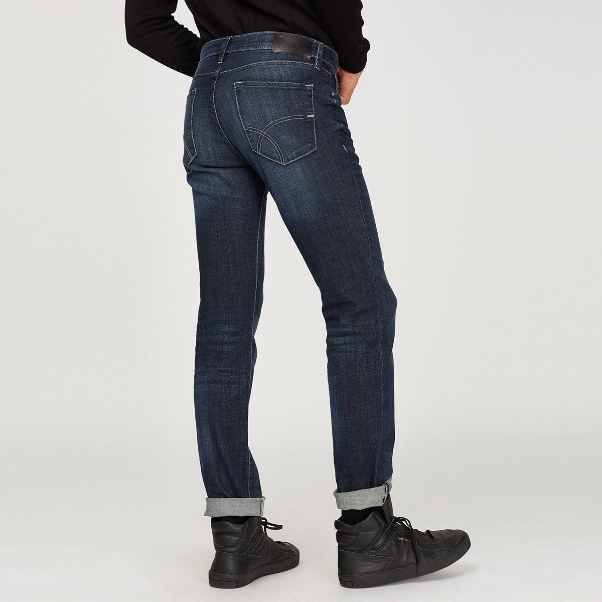 Exclusive morris wn77 'straight fit' stretch jeans