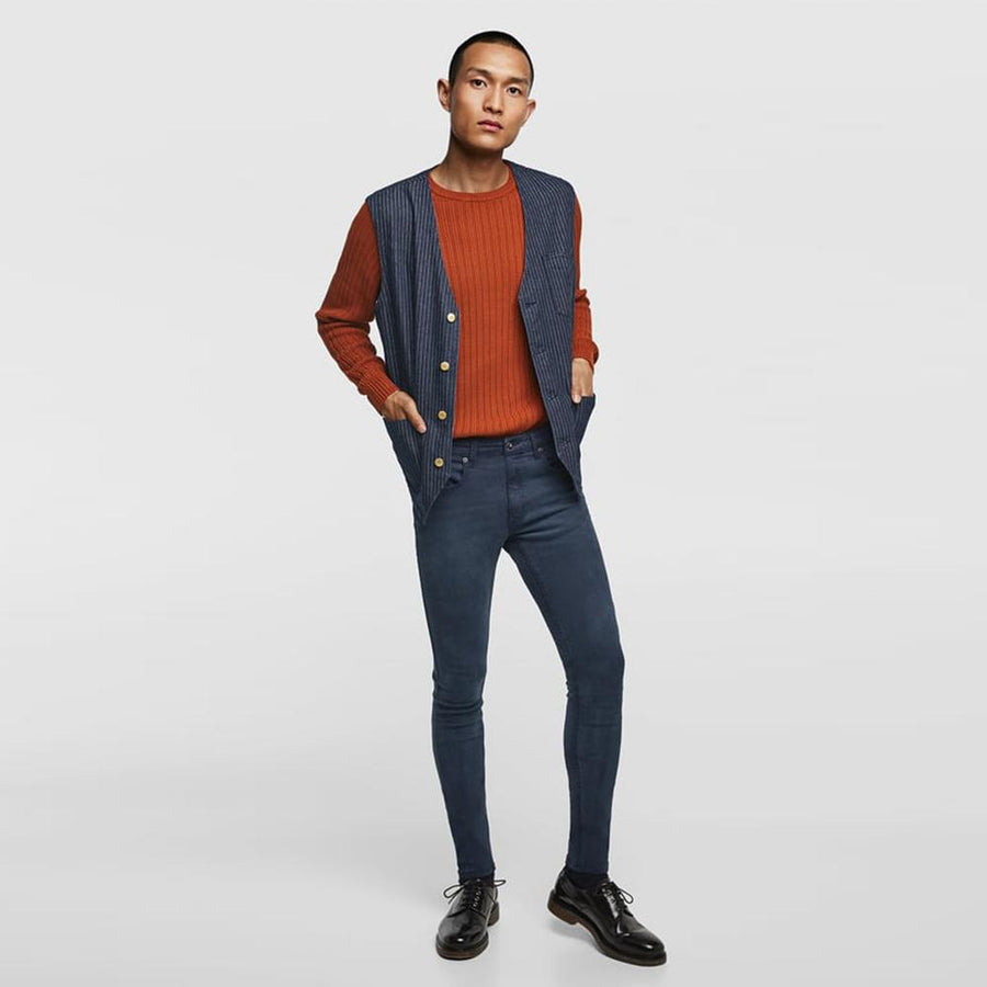 ZARA-basic 'skinny fit' super stretch jeans
