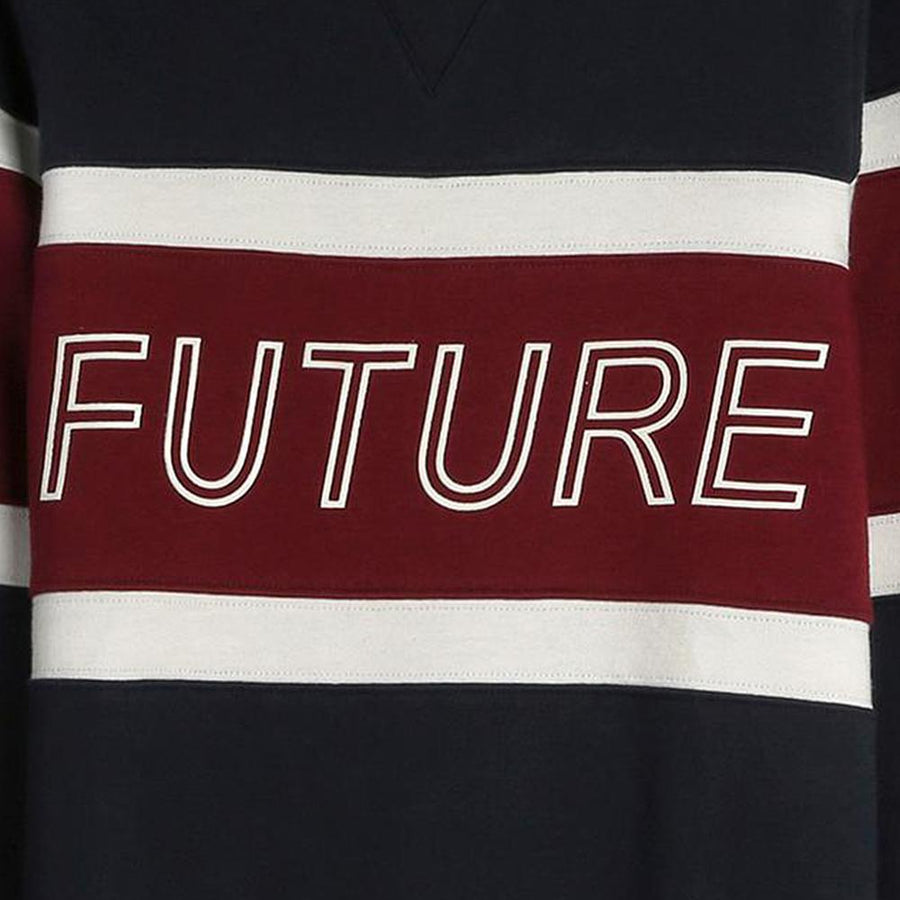 Prmk boys color block future graphic sweatshirt (1188)