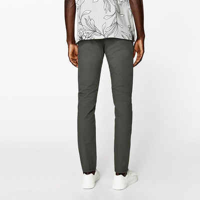 ZARA-exclusive grey 'skinny fit' stretch cotton chino