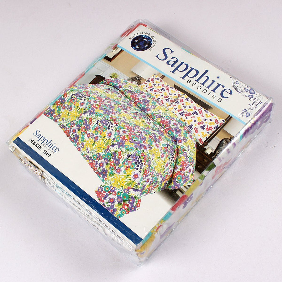 SAPPHIRE-premium quality king size bed sheet set (SA-332)