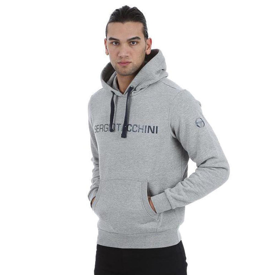 Dark grey vanillas fleece hooded sweater