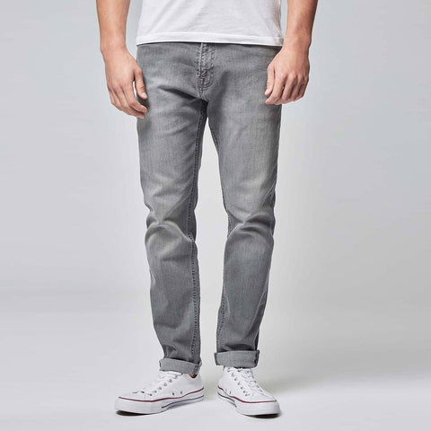 NEXT-light grey 'slim fit' stretch jeans