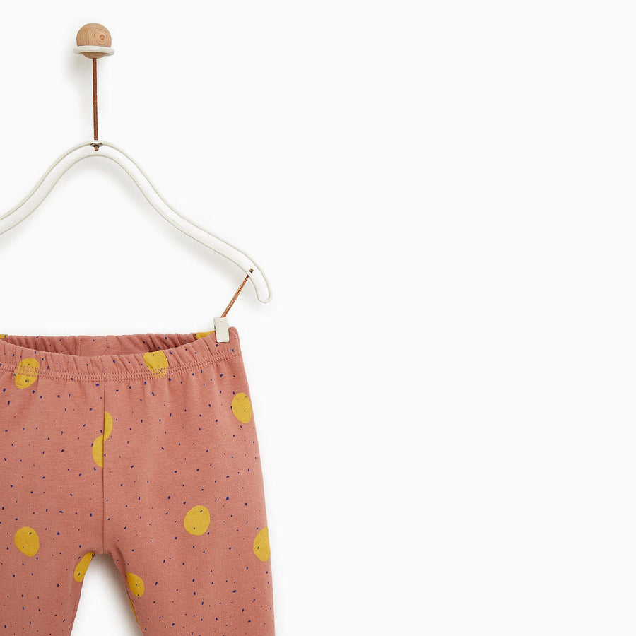 ZARA-kids basic plush fleece legging (513)