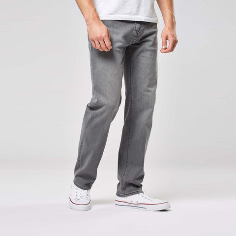 NEXT-light grey 'straight fit' stretch jeans
