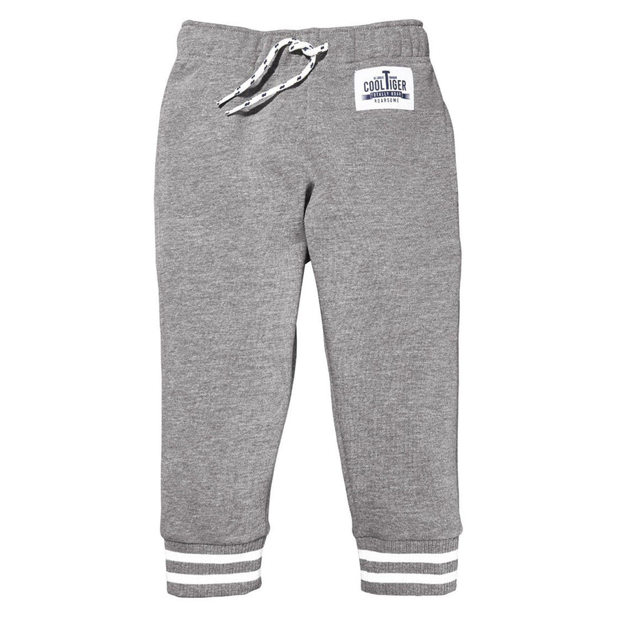 LUPILU-boys grey fleece jogger trouser (503)