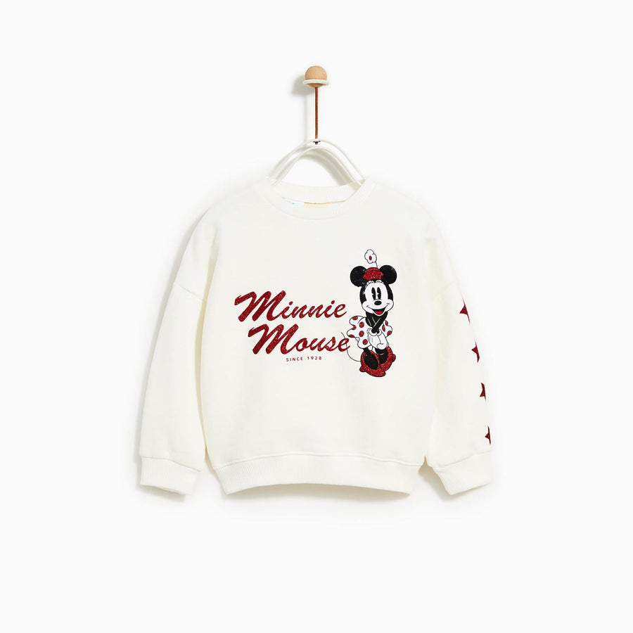 ZARA-kids minnie mouse sweatshirt (565)