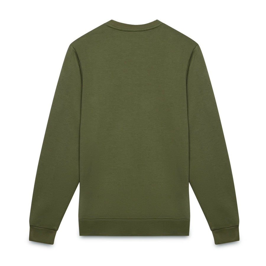 Olive zaman fleece sweatshirt