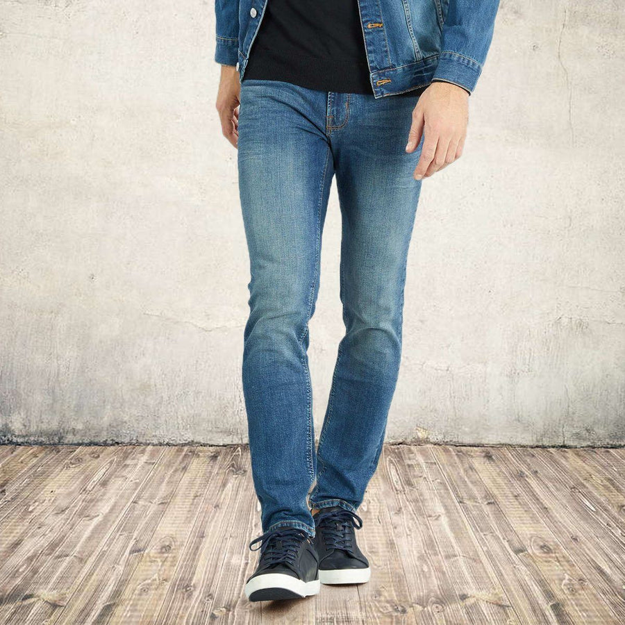 Premium-stone used 'slim fit' stretch jeans
