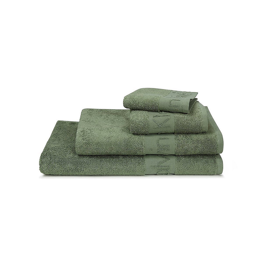 Exclusive moss modern logo bath towel (30 X 57 Inches)