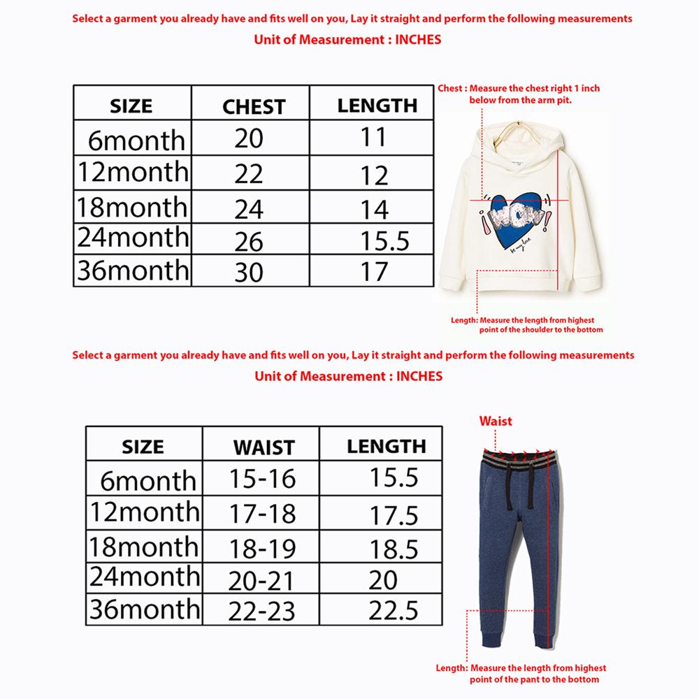Kids Premium Quality Two Piece Suit With Shoulder Snap Button Sweatshirt (30256)