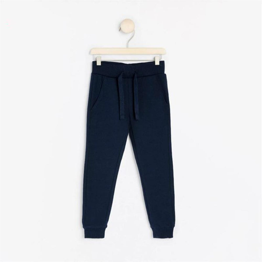 Boys navy 'slim fit' jogger trouser (1478)