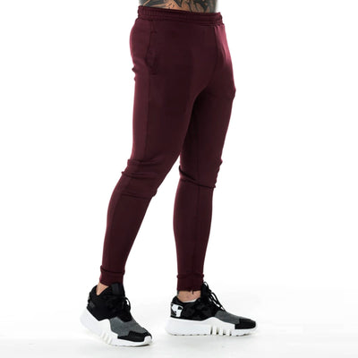 11 DEGREES-exclusive vineyard 'skinny fit' core poly trouser