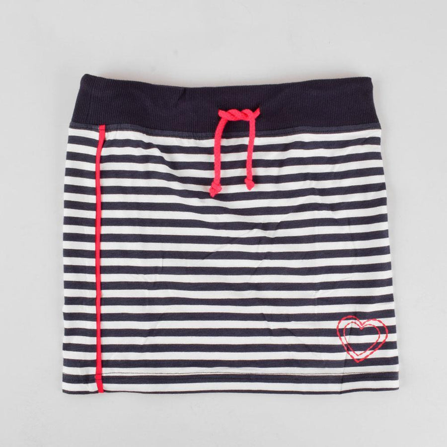 Girls stripes printed skirt (876)