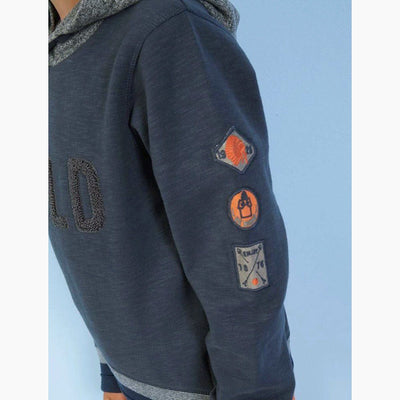 TAPE A LOEIL-boys wild hoodie with side zips