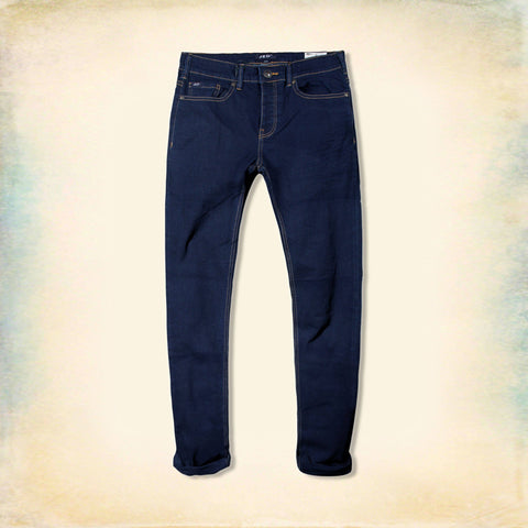 JED ORIGINAL LONDON-navy blue 'slim skinny' stretch jeans
