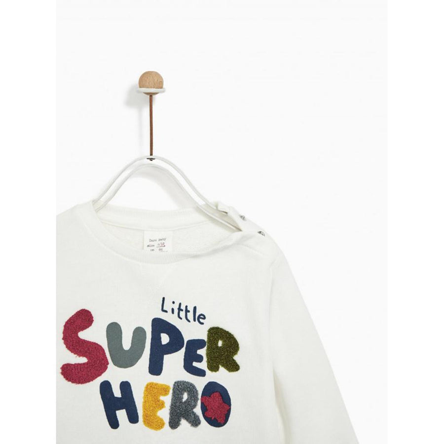 Zr kids little hero plush sweatshirt (1499)
