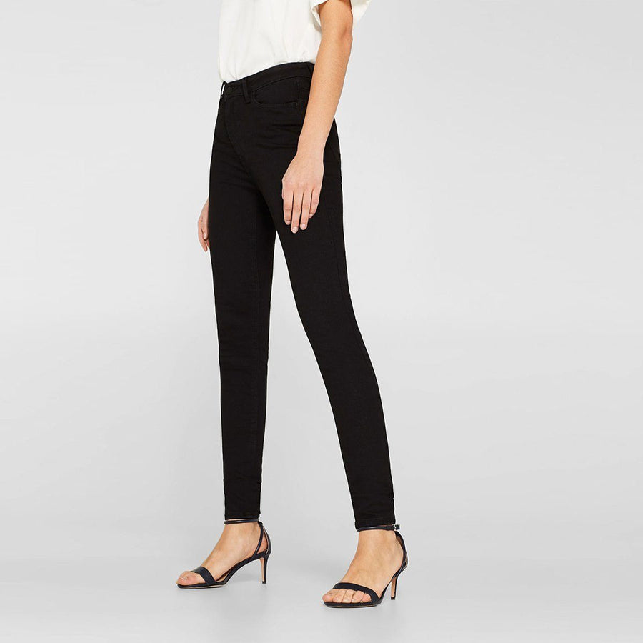 Black 'skinny fit' stretch jeans (921)