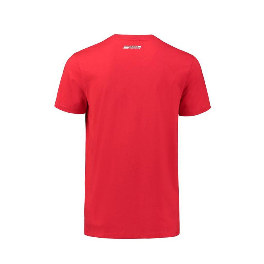 Ferr exclusive printed red cotton t-shirt (965)