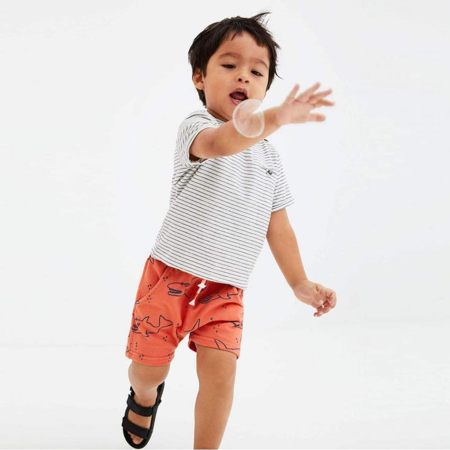 ZARA-kids plush jersey bermuda shorts (813)