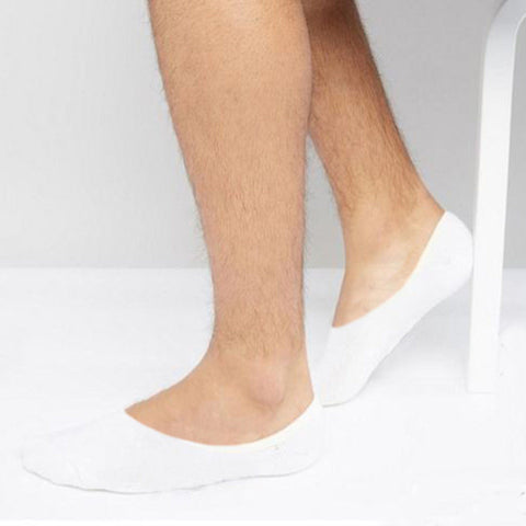 Invisible 5 pack white socks