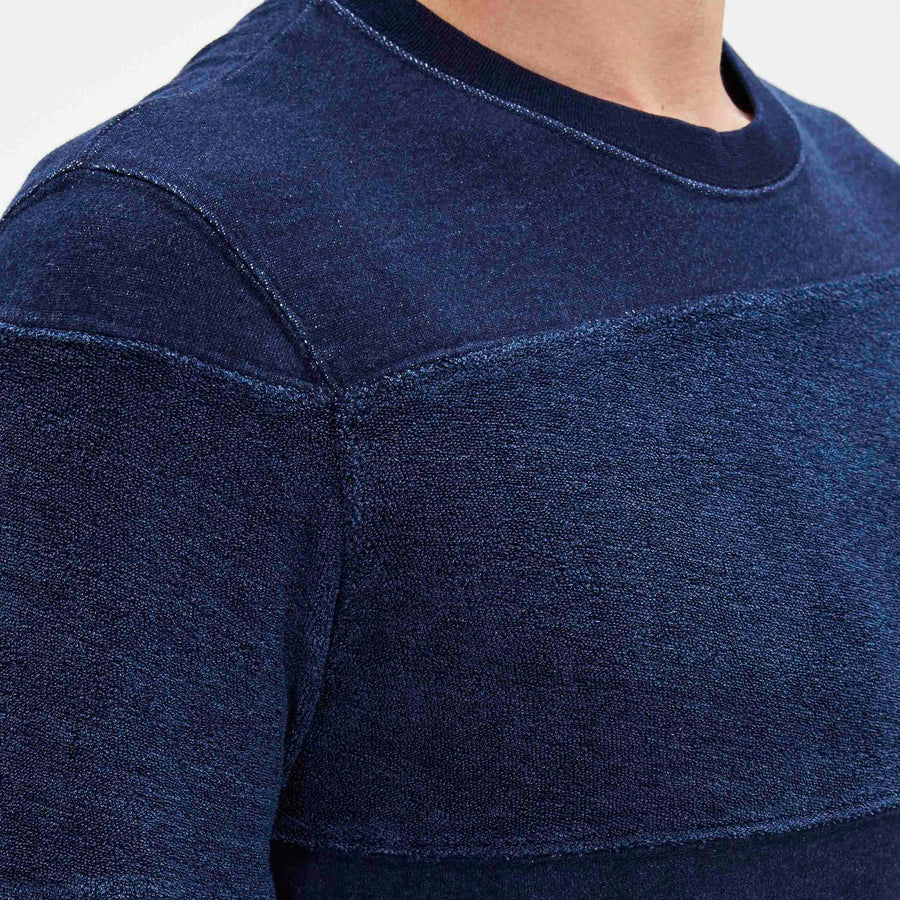 CELIO-exclusive sweatshirt with tricolor stripes