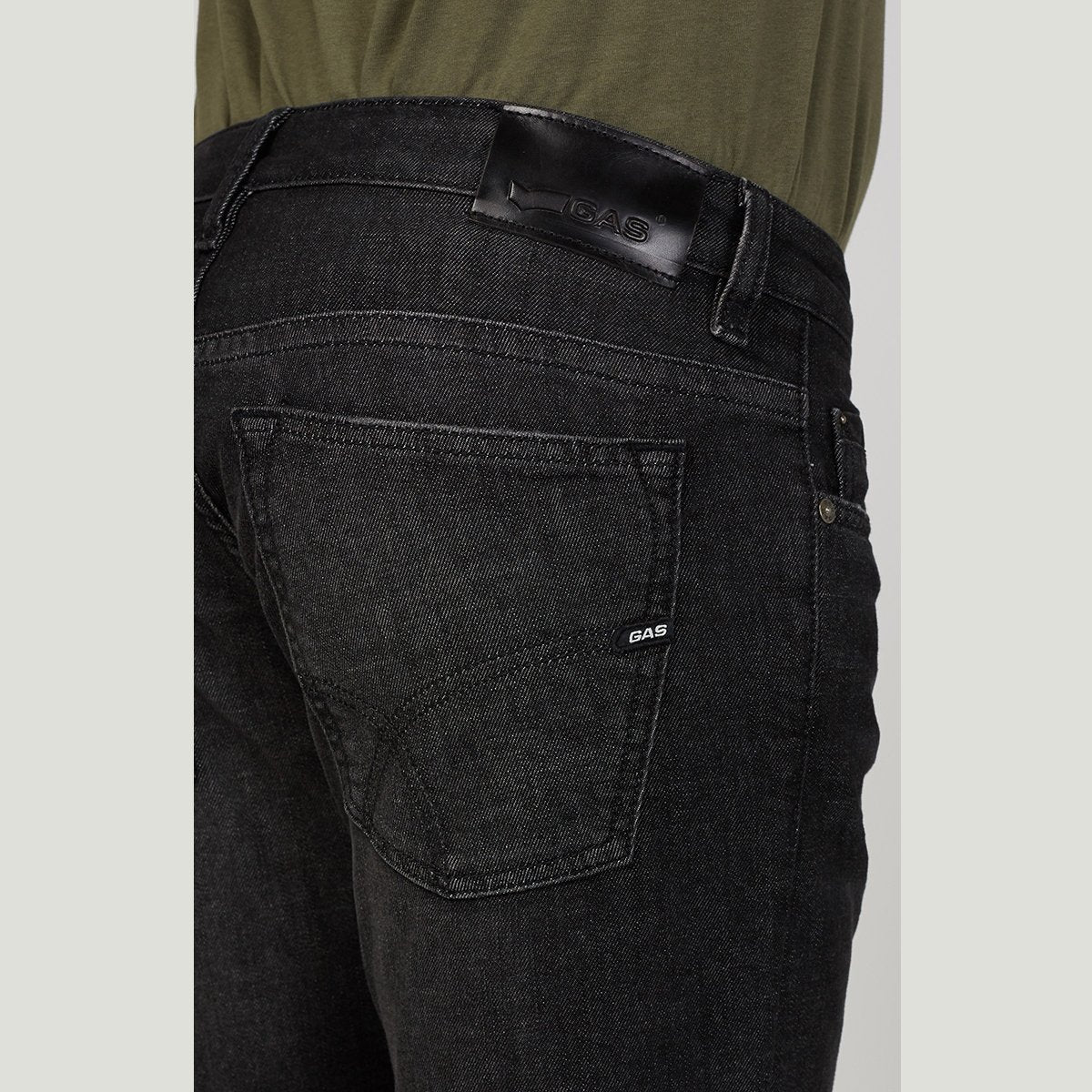 Exclusive basic anders wk13 'regular slim' stretch jeans