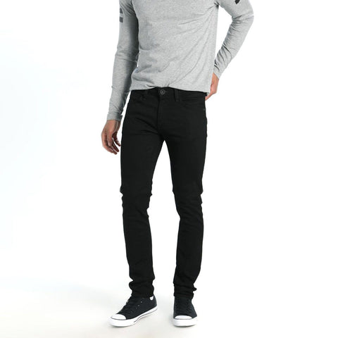 SMOG-black 'slim fit' stretch jeans