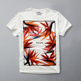 JACK & JONES-slim fit escape white graphic t-shirt