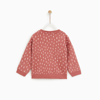 Zr kids polka dot sweatshirt (1187)