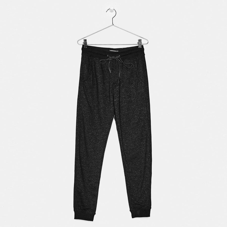 BERSHKA-exclusive women charcoal jogger trouser with cords