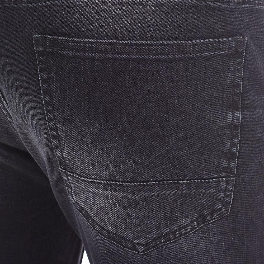 Burtn dark grey 'tapered fit' stretch jeans (716)
