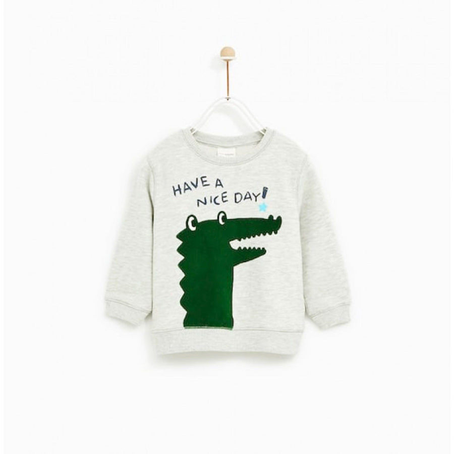 ZARA-kids have a nice day sweatshirt (566)