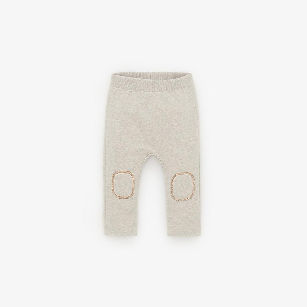 Zr kids leggings with knee patches (1481)