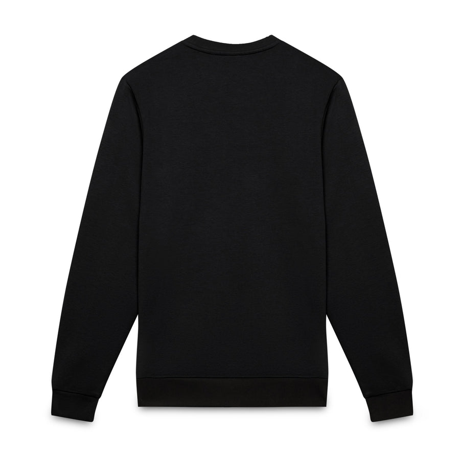 Black zelda st fleece sweatshirt