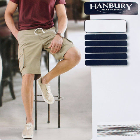 HANBURY-fone 6 pocket cotton cargo short