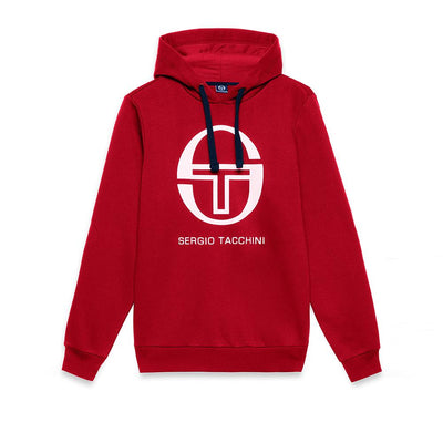 SERGIO TACCHINI-red zion fleece hooded sweater