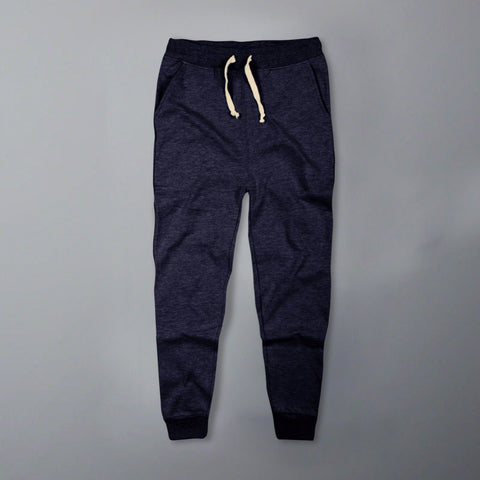 CELIO-blue 'slim fit' jogger trouser